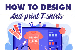 How to design and print custom T-shirts with your company logo