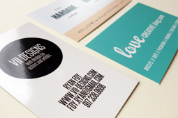 Business card papers