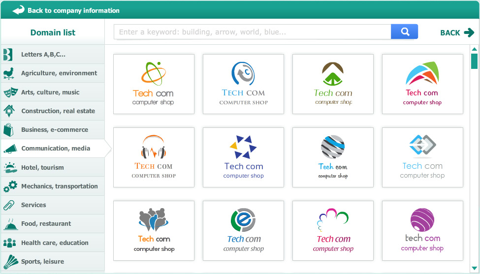 Logogenie Online Company Logo Design Systems Online