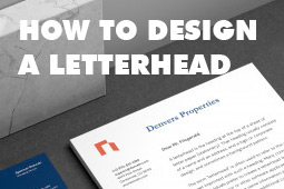 How to Design a Letterhead that Captures your Brand Perfectly