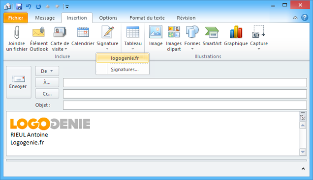 how to create an electronic signature in word 2010