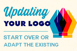 Updating your Logo Design: Delete and Start Anew, or Adapt your Old Logo?