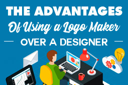 The Advantages of using a Logo Maker over a Graphics Designer