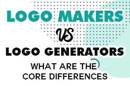 Logo Maker Vs Logo Generator | What are the core differences