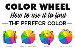 Color wheel | Using the Color Wheel to find the perfect color combination