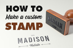 How to Create a Custom Company Stamp With Your Logo