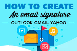 How to create an email signature with your logo on Outlook, Gmail, Yahoo
